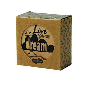 Wooden Pop Stamp - Live Your Dream