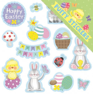 Easter - Puffy Stickers