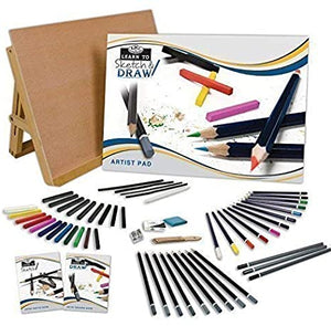 Royal & Langnickel Learn To: Sketch & Draw: 58pc Art Set