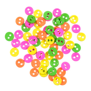 Mini Craft Buttons 4g Pack