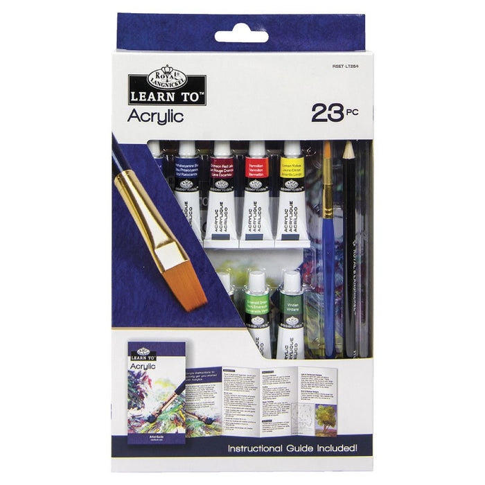 Royal & Langnickel Learn To: Acrylic Painting: 23pc Art Set