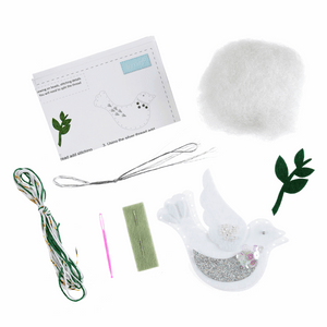 Felt Decoration Kit: Christmas Dove