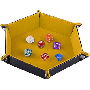 PU Leather Dice Tray