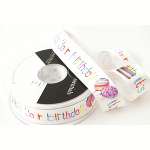 Ribbon: It's Your Birthday: 25mm