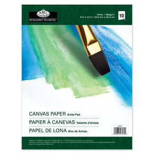 "Royal & Langnickel 9x12"" Artist Pad - Canvas Paper"