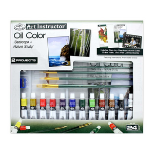 Royal & Langnickel Art Instructor - Oil Paint Set