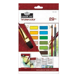 Royal & Langnickel Learn To: Watercolour Cake: 29pc Art Set