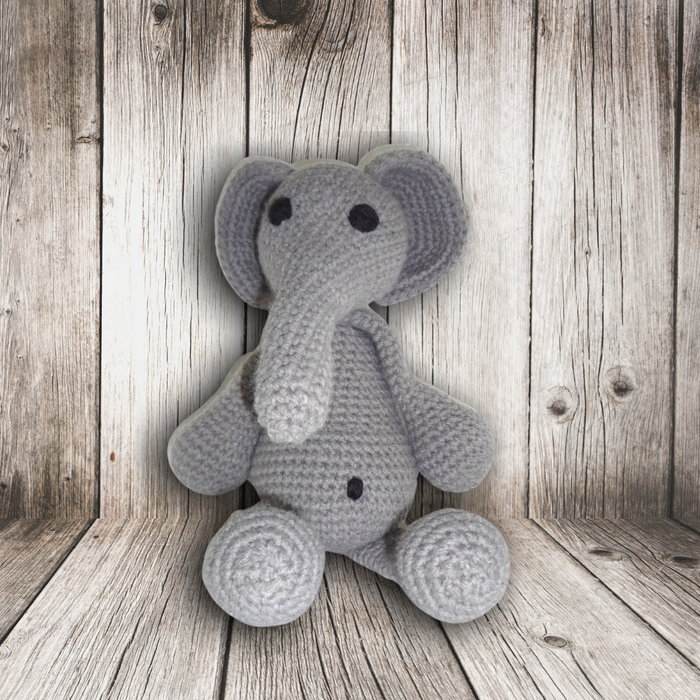 Handmade Crochet: Ethel the Elephant