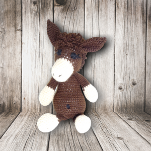 Handmade Crochet: Dancer the Donkey