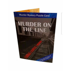 Puzzlecard: Murder Mystery Greetings Card