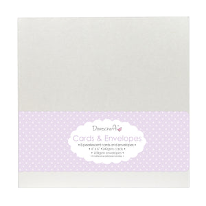Dovecraft Cards & Envelopes - Pearlescent