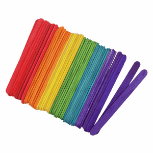 Trimits Coloured Lollipop Craft Sticks