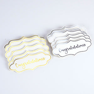 Dovecraft Die Cut Sentiment Toppers - 12pk