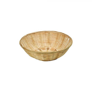 Round Bamboo Display Basket