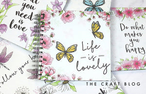 "Simply Creative Scrapbook Album 12x12"" - Life is Lovely"