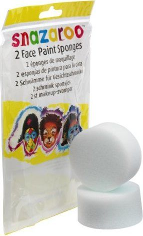 Snazaroo Face Painting Sponges - 2pk