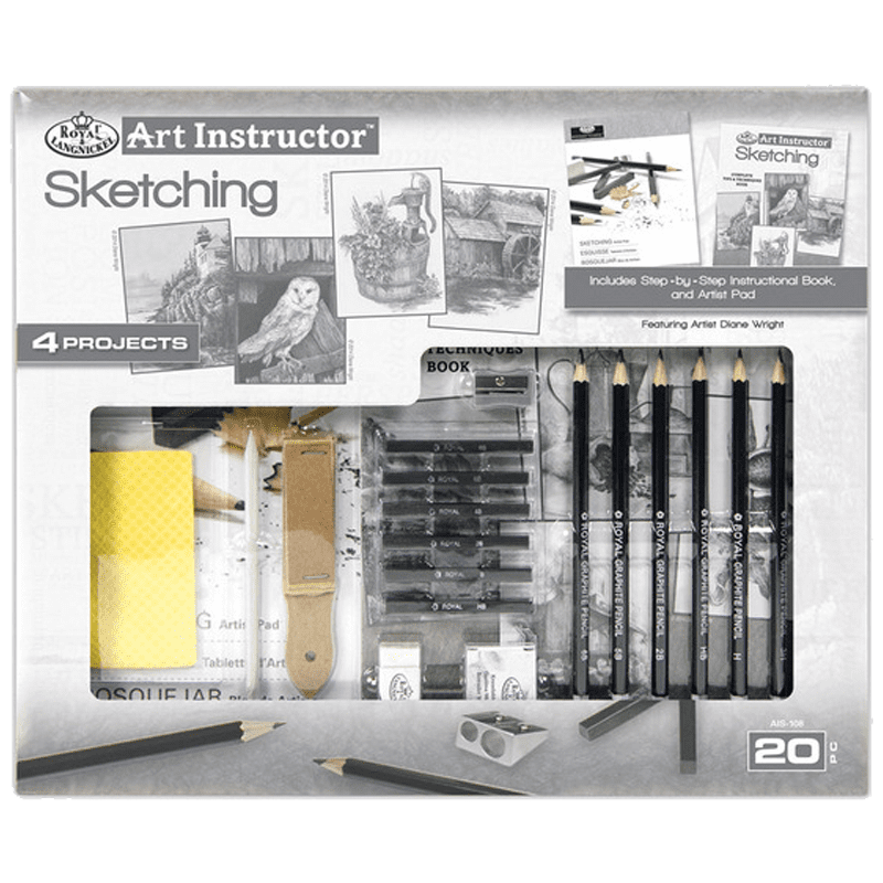 Royal Langnickel Art Instructor Sketching Set The Home Crafters Ltd