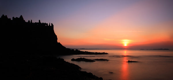 Dunluce Castle at Sunset