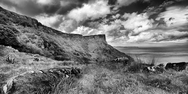 Monochrome image of Fair Head