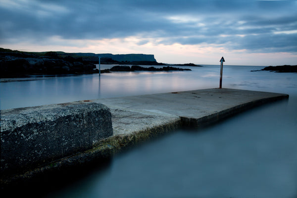 Dunseverick Harbour at first light