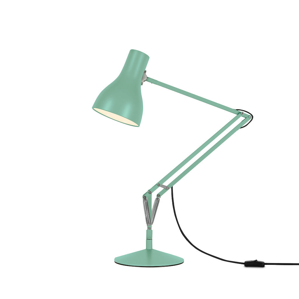 Anglepoise Type 75 Seagrass Side View