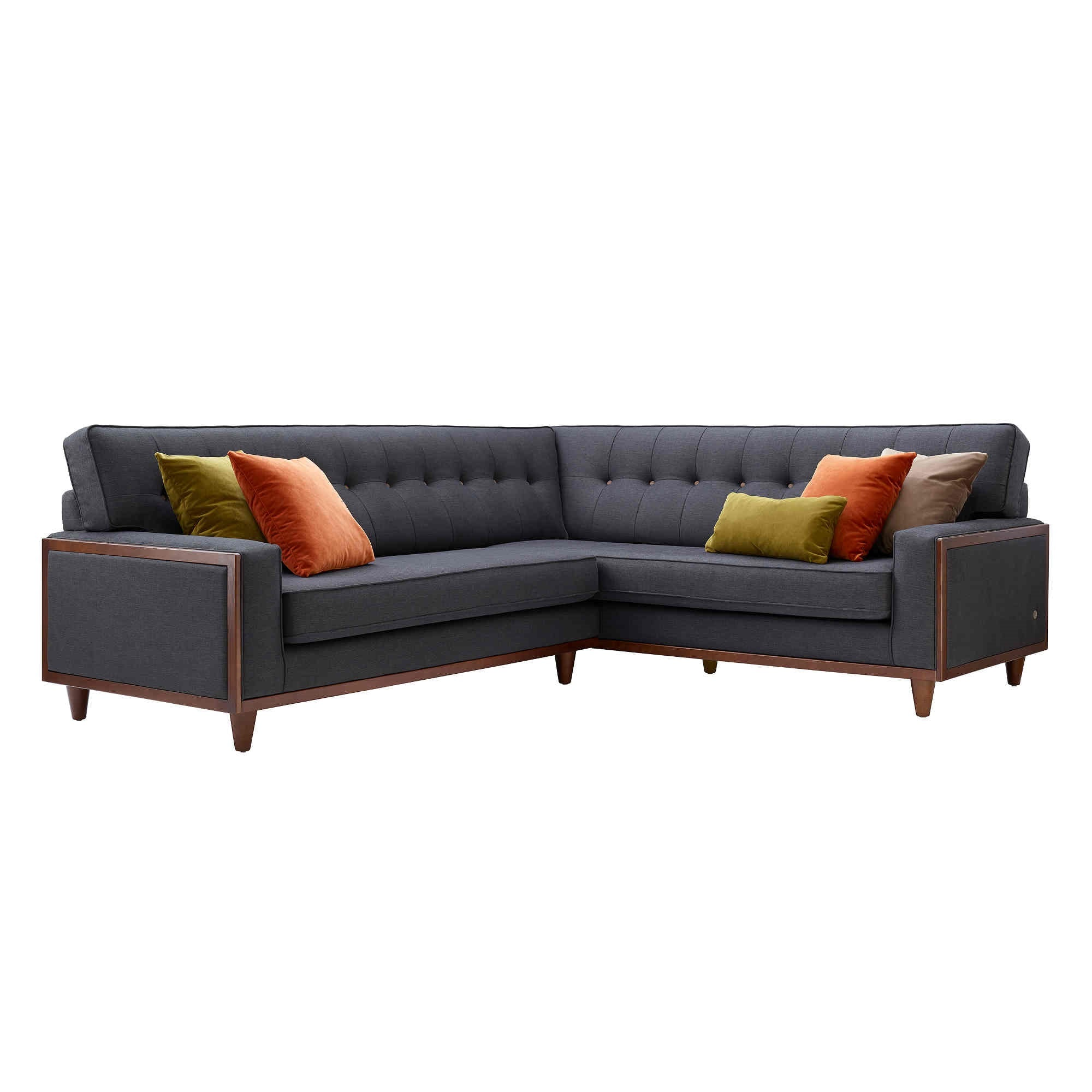 The Fifty Nine Fabric Corner Sofa right hand