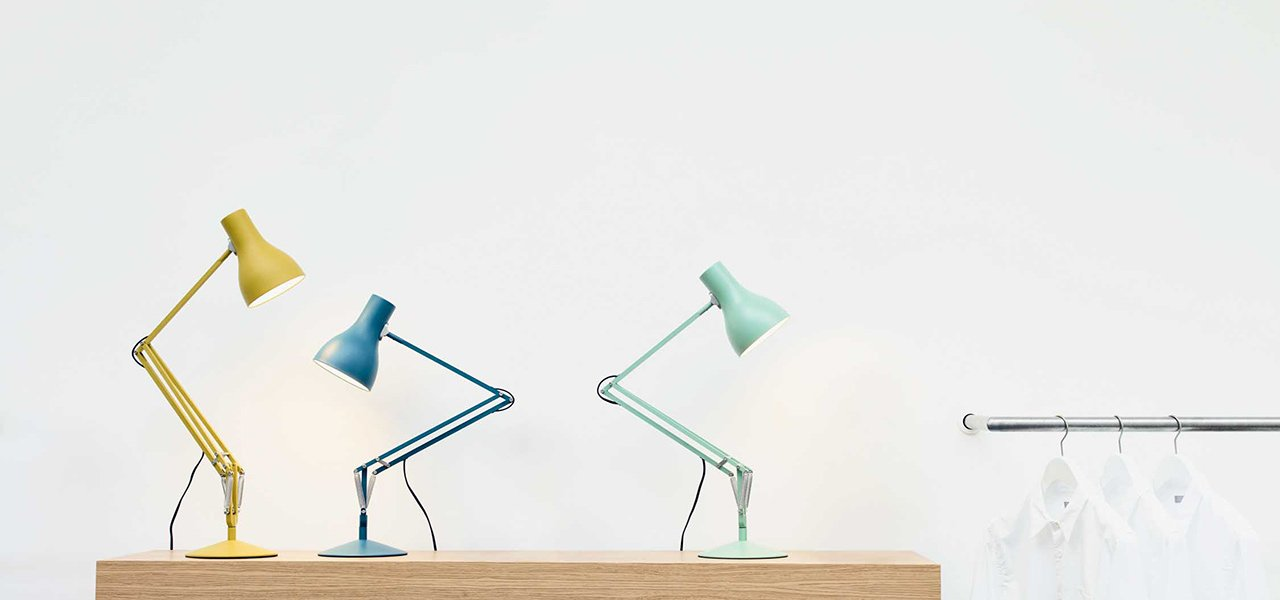 Anglepoise Margaret Howell editions