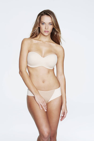 Bridal Lingerie - Dominique 3541 - Nude - Ocean - Seamless Strapless Bra - FABWedding