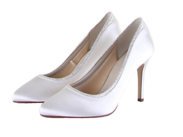 Billie Court Shoes Rainbow Club Fabwedding Bridal Bundle Ivory and Shimmer