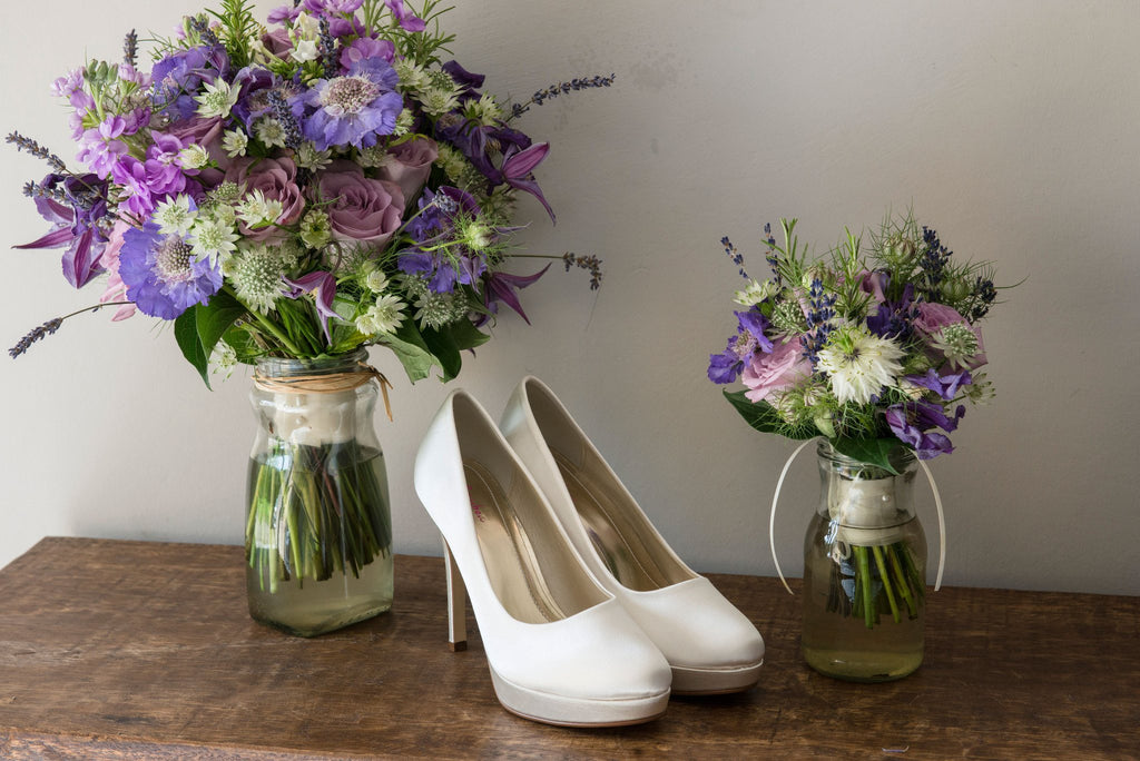Bridal Shoes - Rainbow Club - Ivory - Stiletto - Platform - Round Toe - Eliza - FABWedding