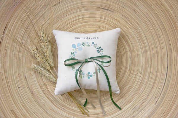 Wedding Ring Cushion - Wedding Stationery - Bespoke - FABWedding