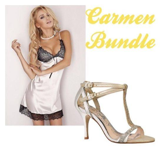 Carmen Bundle bridal look babydoll party sandal fabwedding