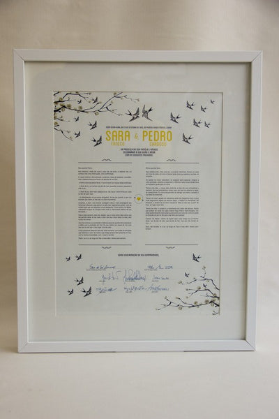 Wedding Certificate, Wedding Stationery - FABWedding