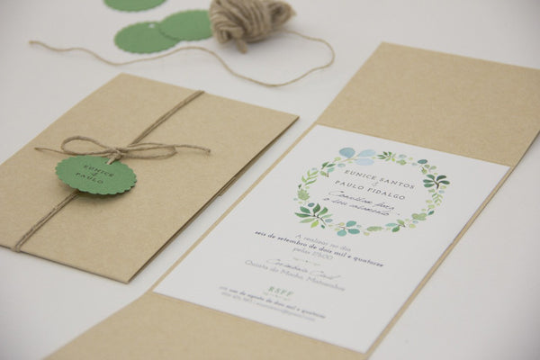 Wedding Stationery - Amor à Portuguesa -  - Pocket Invitation - FABWedding - 4
