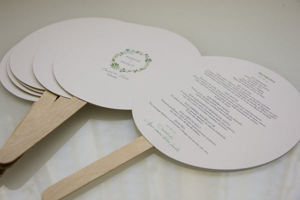 Wedding Stationery - Amor à Portuguesa - PROGRAM - Order of Service - FABWedding