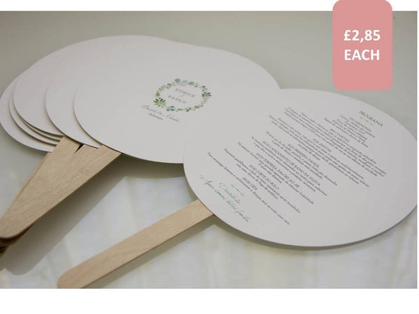 Order of Service, Wedding Stationery - FABWedding