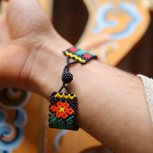 SunFlower - Original Huichole Bracelet