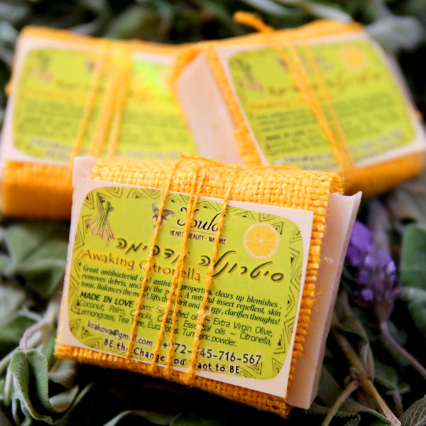 Youla Natural Soap - Awaking Citronella