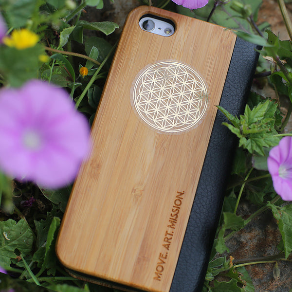 Flower Of Life Primium Quality Golden Stickers - Small