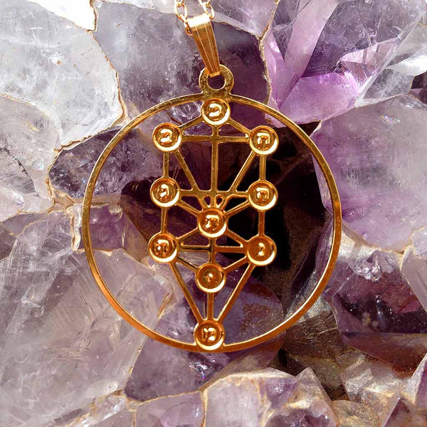 Tree of Life - Gold Plated Pendant
