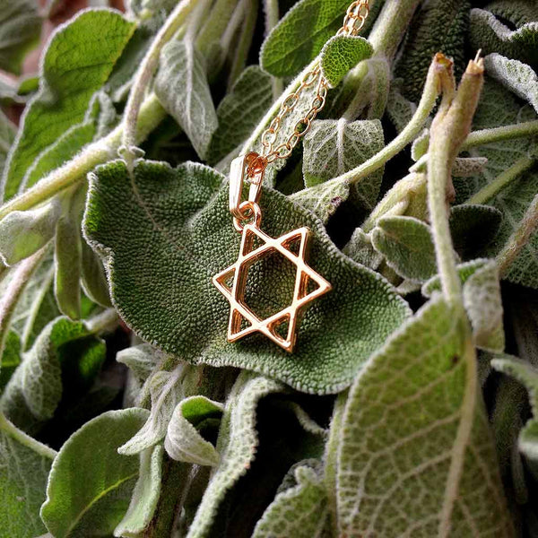 Star of David - Gold Plated Pendant