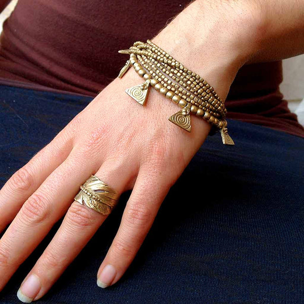 Tribal Bracelet ~ Triangle ~