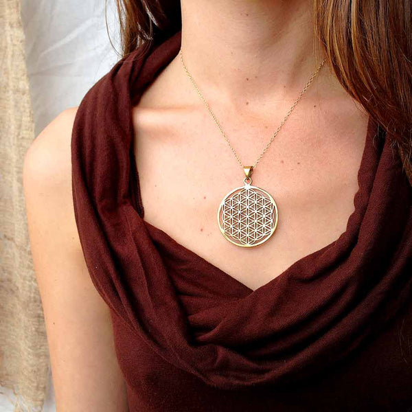 Grand Flower of Life Necklace