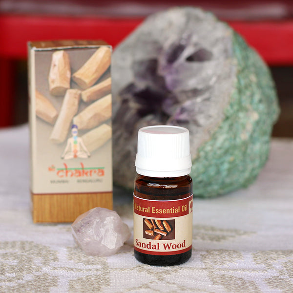 Natural Sandal Wood Essential Oil - 10ml