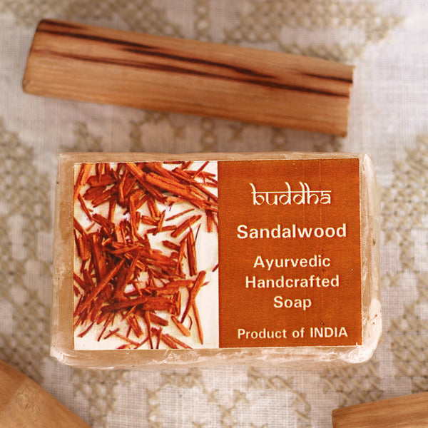 Ayurvedic Hand Made Sandal Wood Soap