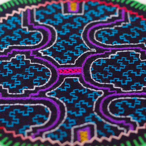 Blue Wail - ORIGINAL SHIPIBO EMBROIDERY
