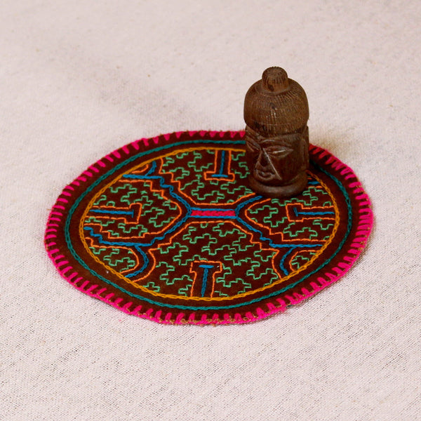 The Budhha - ORIGINAL SHIPIBO EMBROIDERY