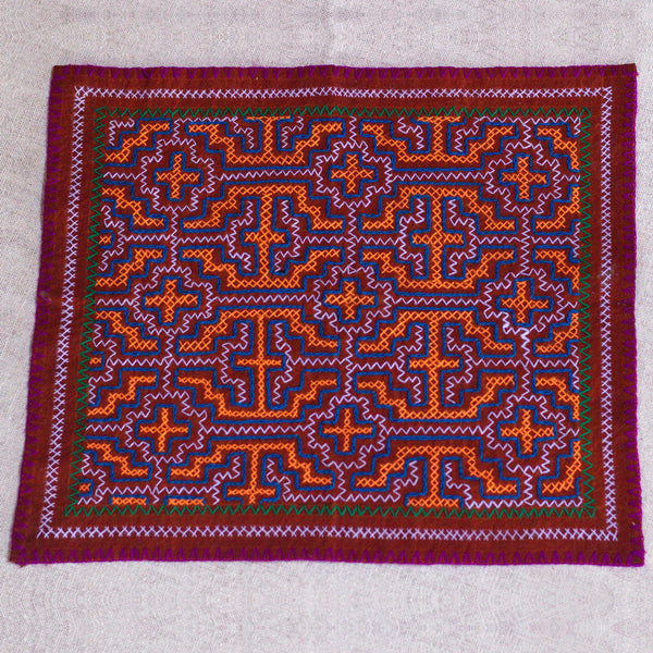 Orenge Brown - ORIGINAL SHIPIBO EMBROIDERY