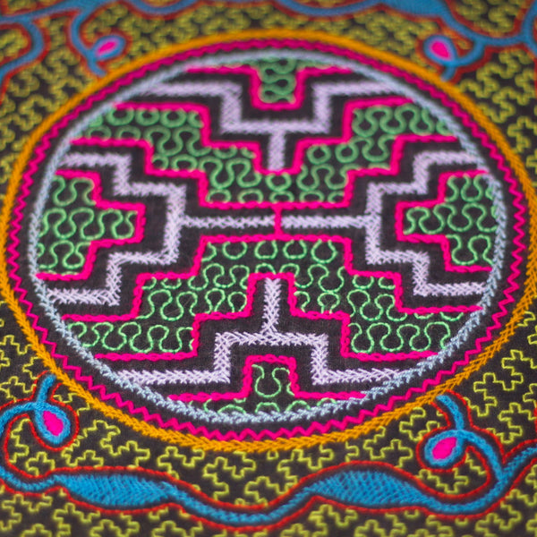 Aya - ORIGINAL SHIPIBO EMBROIDERY