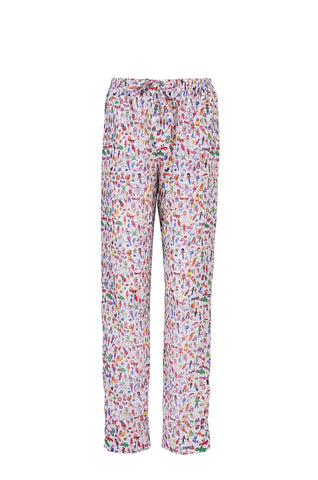 Printed pajama pants - by KO - Oberson House Of Design